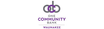One Community Bank Waunakee logo